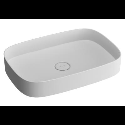 Memoria Oblong Countertop basin 63 cm