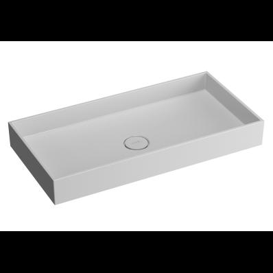 Memoria Rectangular Countertop Basin 80 cm