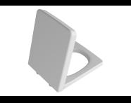 96-001-001 - Frame Toilet Seat, Top Fixing, Matte White