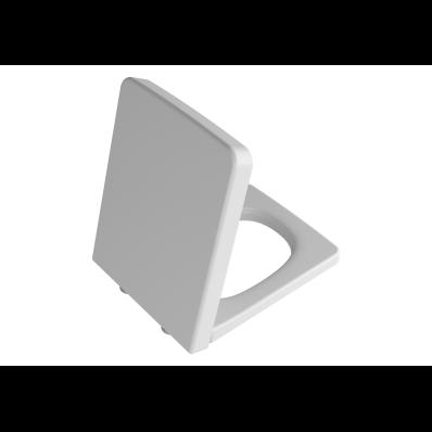 Frame Toilet Seat, Top Fixing, Matte White