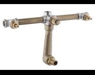 A40834 - Juno Ankastre Banyo Bataryası (Sıva Altı Grubu)