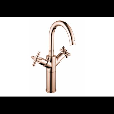 Juno Basin Mixer, For Bowls, Copper