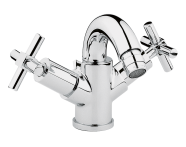 A40878VUK - Uno Bidet Mixer with Pop-Up Waste