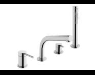 A41270EXP - Pure Bath Mixer (Deck Mounted)