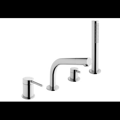 Pure Bath Mixer (Deck Mounted)
