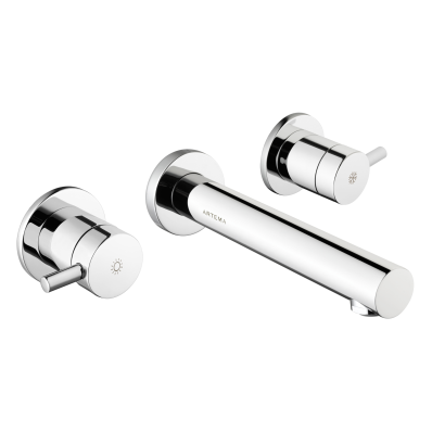 Pure Built-in Basin Mixer, Two Handle (Including Concealed Part)