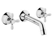 A41697EXP - Juno Classic Built-In Basin Mixer