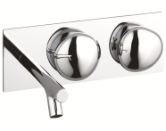 A41808VUK - Istanbul Pebble Built-in Basin Mixer
