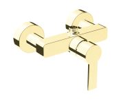 A4193823EXP - Flo S Shower Mixer,  Gold