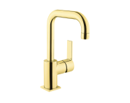 A4193923EXP - Flo S Basin Mixer , With Swivel Spout, Gold
