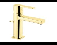 A4194123 - Flo S Lavabo Bataryası  (Sifon Kumandalı), Altın