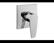 A42222EXP - Q-Line Built-in Bath/Shower Mixer (Exposed Part)