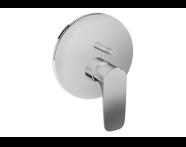 A42264VUK - X-Line Built-In Bath/Shower Mixer, (V-Box-Exposed Part), Chrome