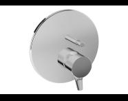 A42266VUK - Nest Trendy Built-In Bath/Shower Mixer, (V-Box-Exposed Part), Chrome