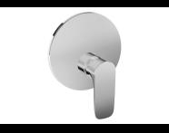 A42267 - X - Line Ankastre Duş Bataryası (V-Box Sıva Üstü Grubu), Krom