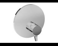 A42269 - Nest Trendy Ankastre Duş Bataryası (V-Box Sıva Üstü Grubu), Krom
