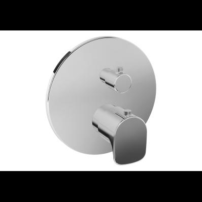 X - Line Ankastre Termostatik Banyo Bataryası (V-Box Sıva Üstü Grubu), Krom