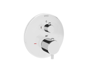 A42274 - Pure Ankastre Termostatik Duş Bataryası (V-Box Sıva Üstü Grubu), Krom