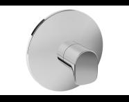 A42276EXP - X-Line Diverter, V-Box-Exposed Part, Chrome
