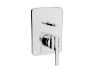 A42286VUK - Suıt Built-In Bath/Shower Mixer, (Exposed Part), Chrome