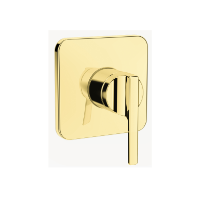 Suit Built-In Shower Mixer, Exposed Part, Gold