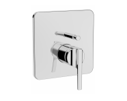 A42288VUK - Suıt Built-In Bath/Shower Mixer, (V-Box-Exposed Part), Chrome
