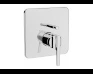 A42288VUK - Suıt Built-In Bath/Shower Mixer, (V-Box-Exposed Part), Chrome