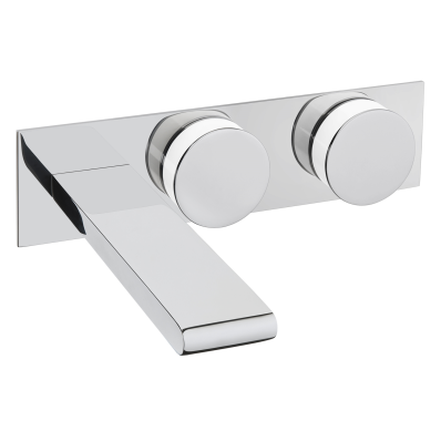 Memoria Built-in Basin Mixer, Round Handles