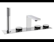 A4231658EXP - Memoria Bath Mixer (Deck Mounted)