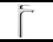 A42322EXP - X-Line Basin Mixer (For Bowls)