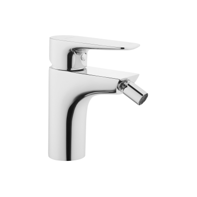 X-Line Bidet Mixer with Pop-Up