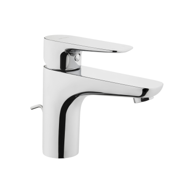 X-line Basin mixer with pop-up waste