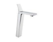 A42332VUK - Memoria Tall Basin Mixer with Pop-Up Waste, Single-Lever