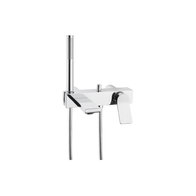 Memoria Bath/Shower Mixer, Single-Lever, Wall-Mounted