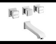 A42342 - Elegance Ankastre Banyo Bataryası