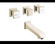 A4234223VUK - Elegance Built-in bath/shower mixer including valve body