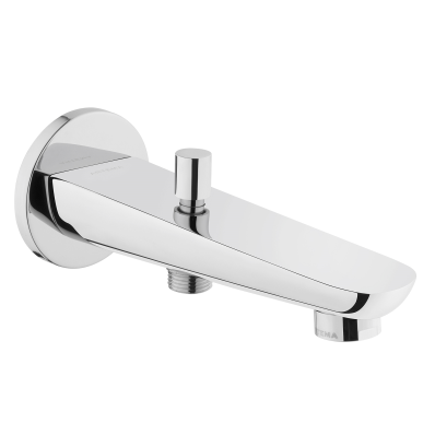 Z-Lıne Bath Spout, (With Handshower Outlet), Chrome