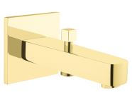 A4239323EXP - Flo S Bath Spout, With Handshower Outlet, Gold