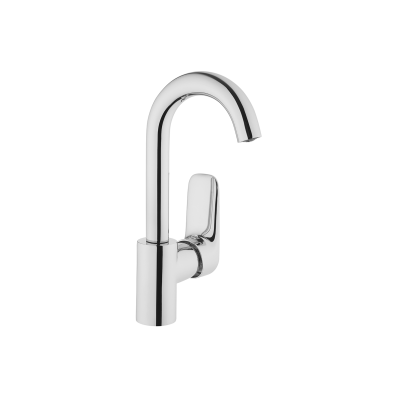 X-Line Basin Mixer (With Swivel spout)