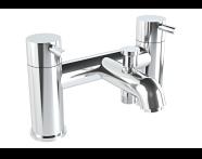 A42410VUK - Minimax S 2 Tap Hole Bath Shower Mixer