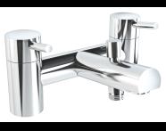 A42412VUK - Pure 2 Tap Hole Bath Shower Mixer