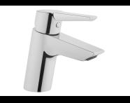 A42440VUK - Solid S Basin Mixer, Chrome