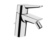 A42443VUK - Solid S Bidet Mixer, (With Pop-Up), Chrome