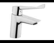 A42484EXP - Solid S Basin Mixer, Chrome