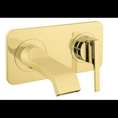 Suıt U Built-In Basin Mixer, (Exposed Part), Gold
