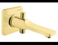 A4248923VUK - Suıt L Bath Spout, (With Handshower Outlet), Gold