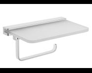 A44334EXP - Arkitekta Toilet Paper Holder with shelf