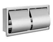 A44416 - Arkitekta Ankastre Tuvalet Kağıtlığı  (İkili Yatay)