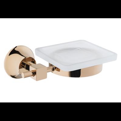 Juno Soap Dish, Gold