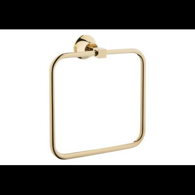 Juno Towel Ring, Gold